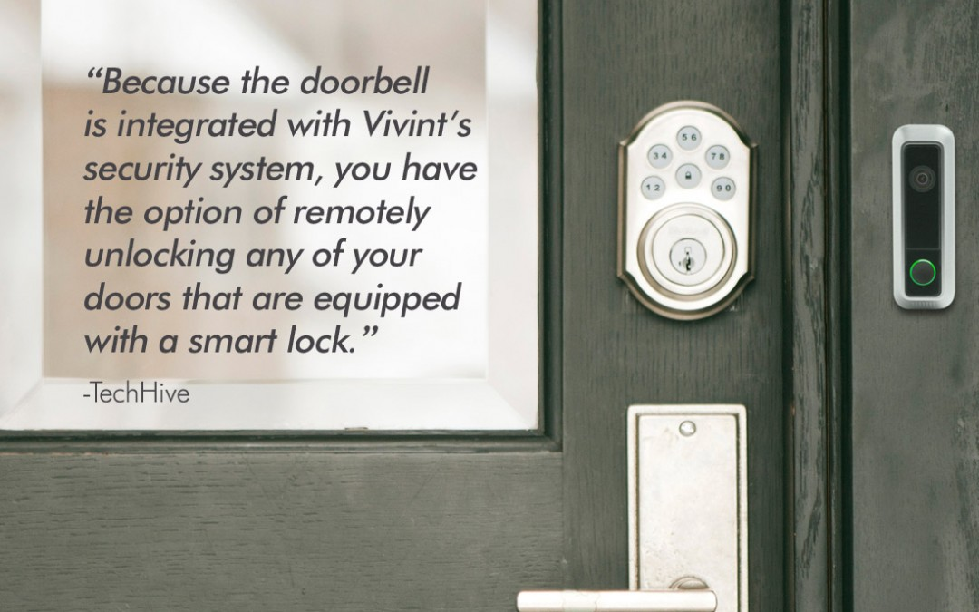 Vivint Expands its Connected-Home System With a Sophisticated Doorbell Camera