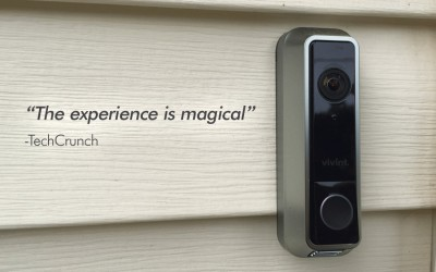 Vivint Launches A New Home Automation System Complete With A Tiny Doorbell Camera
